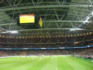 Inside the Friends Arena Football Stadium - Chris Marsden