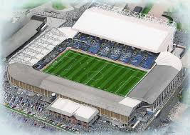 Elland Road football stadium the football ground home to Leeds United