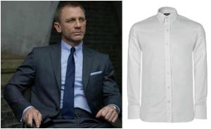 Tom Ford suit and shirt ideal for Bond in Skyfall